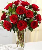 R1308001 11 Long Stemmed Red Roses