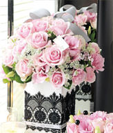 29 Pink Roses,Green leaves